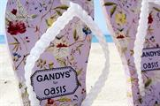 Oasis is offering free in-store pedicures to those who purchase a pair of Gandys for Oasis flip-flops (@OasisFashion)
