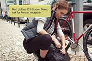 Samsung: Latest Gear Circle ad stars British cyclist Keira McVitty