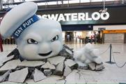 Sony Pictures stages Ghostbusters PR stunt at London Waterloo