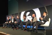 Panel (l-r): Jem Fawcus, Charles Fallon, Neil Christie, Mark Boyd, Tim Bourne and Ronald Urbach