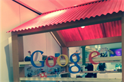 Google hosted a chill-out lounge area in Bafta 195