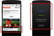 Google: launches new mobile ad formats