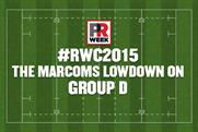 Rugby World Cup: The marcoms lowdown on the Group D contenders