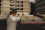 Grand Theft Auto: leads most-shared ad chart