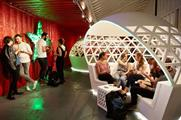 Heineken's pop-up lounge was located in the Old Truman Brewery