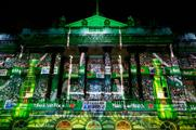 Projection Artworks designed and delivered the mapping