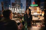 Heineken's Moderate Drinkers Wanted falls in line with its Enjoy Heineken Responsibly campaign