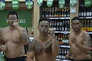 "Heineken: has a ""haka-off"" with Tesco customers"