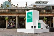 The box was designed to encourage people to donate their unwanted clothing