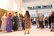 Harvey Nichols' shoppable Christmas carolers bring party outfits to working women