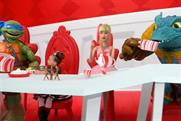 Target: the ad is inspired by 'Alice in Wonderland'
