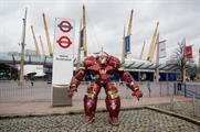 DePetrillo took his Avengers armour around London
