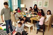 Ikea's new family-based campaign