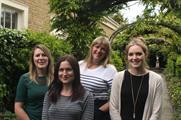 Jo Morgan, Silvia Harriman, Hari Wilkes and Lauren Hyder join Innovision