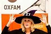 Joanna Lumley opens the Little Shwop of Horrors