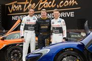 Button, Häkkinen and Magnussen launch the new activation