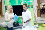 John Lewis partners will be on-hand to guide shoppers through the experience