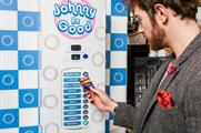 The Johnny Be Good machine is located near Victoria station