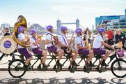 The #Joycycle delivered treats to Londoners stuck in queues (@CadburyUK)