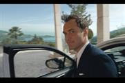 Jude Law: partners Lexus for TV spot that promotes 'luxury' SUV