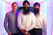 Karmarama: Nik Studzinski, Amardeep Singh Shakhon and Gurmit Singh Shakhon