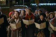 KFC: carol singers featured in Christmas TV ad