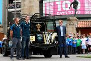 Land Rover is taking the Rugby World Cup trophy on a 100 day tour