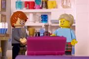 Lego: an entire ad break on ITV was recreated in the popular construction toy format