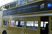 Guests will be transported to different venues by bus