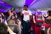 Rudimental performed live onboard Virgin Atlantic's 787
