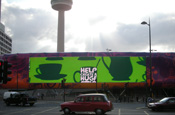 Macmillan supports World's Biggest Coffee Morning with digital outdoor work