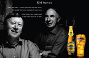 Irish cider workers star in Magners campaign