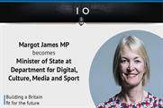Margot James succeeds Matt Hancock at DCMS