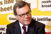 Sir Martin Sorrell: heading WPP's acquisition of TNS
