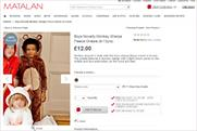 Matalan catalogue: retailer denies that image is racist