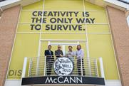 McCann Central: (l to r) Jon Elsom, Mark Dudley, Rod Henriques and Florian Schneider