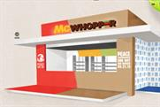 The proposed McWhopper stand