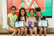 Microsoft is encouraging girls to express creativity through technology