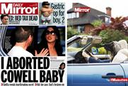 Daily Mirror: the revamp of the daily and its Sunday sister is being promoted by '#Madeuthink'