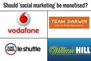 Should 'Social marketing' be monetised?