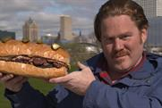 Food Network creates six-patty burger to celebrate new Man v. Food series