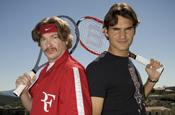 Roger Federer plays comedian in Nike ad