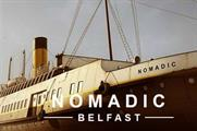 The SS Nomadic is moored in Belfast's Titanic Quarter (nomadicbelfast.com)