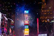 Times Square will be bathed in Planet Fitnesses' colours (Times Square Alliance)
