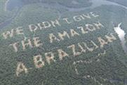 Taking risks: Paddy Power's recent deforestation stunt