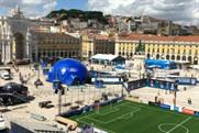 The brand experience was held in the heart of Lisbon
