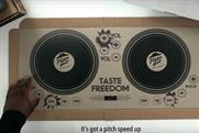 Pizza Hut's playable DJ pizza box puts a new spin on food promos