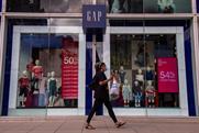 Gap: entered UK high street in 1987 but will leave in September