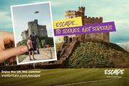 VisitBritain: 'Escape the everyday' campaign ran earlier this year
