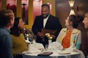 Support Local: The ad contains a cameo from restauranteur Mr Khan from The Radhuni, Edinburgh